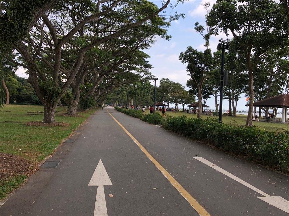 East Coast Parkのサイクリングコース2