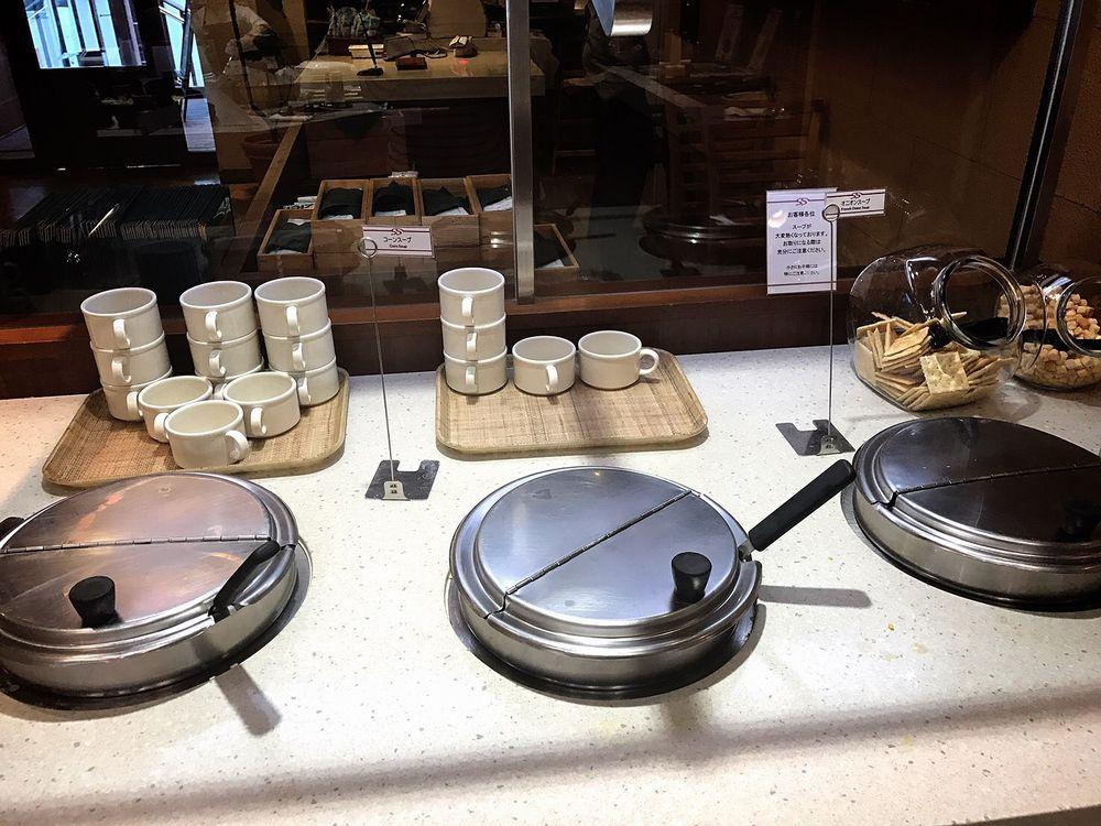 シズラー桜新町店のスープ