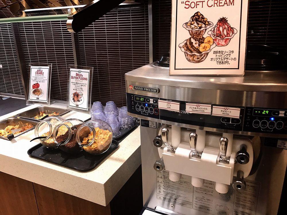 シズラー桜新町店のソフトクリーム