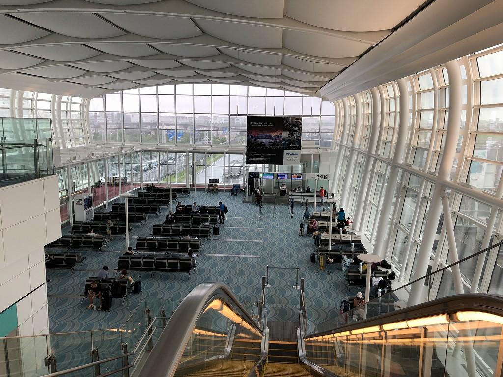 羽田空港国際線の148番搭乗口