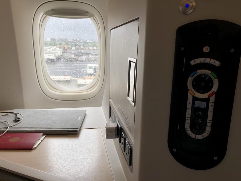 JAL29便ビジネスクラスのJAL SKY SUITE 3の設備5