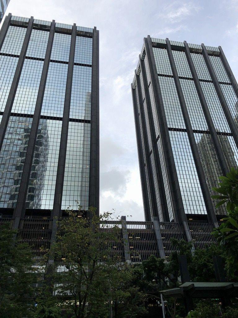 香港のGreat Eagle Centreの外観