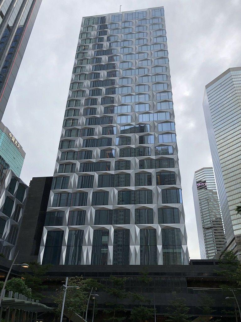 セントレジス香港の外観