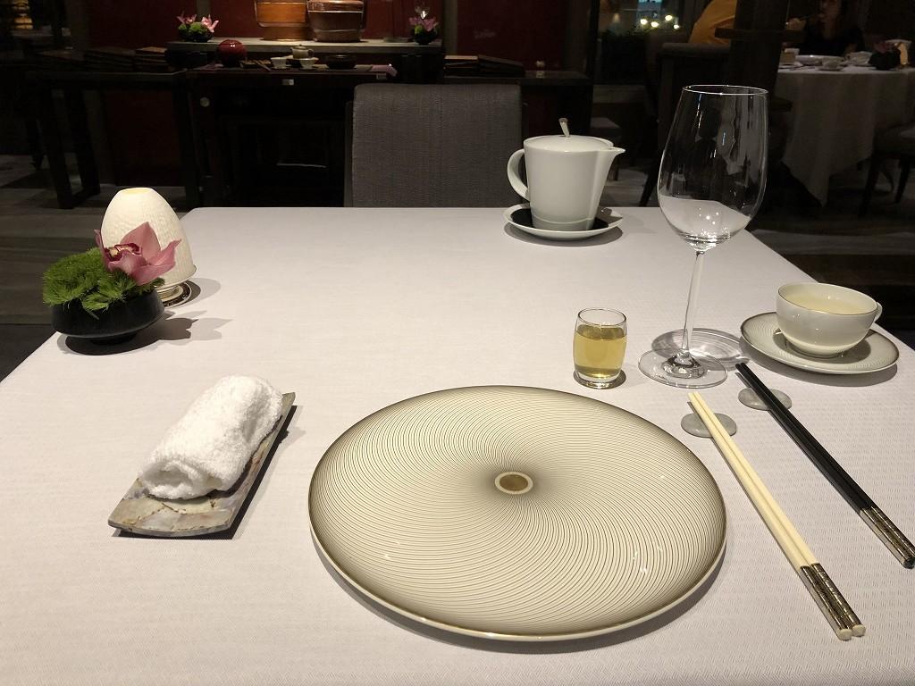 セントレジス香港の「RUN」のディナー1