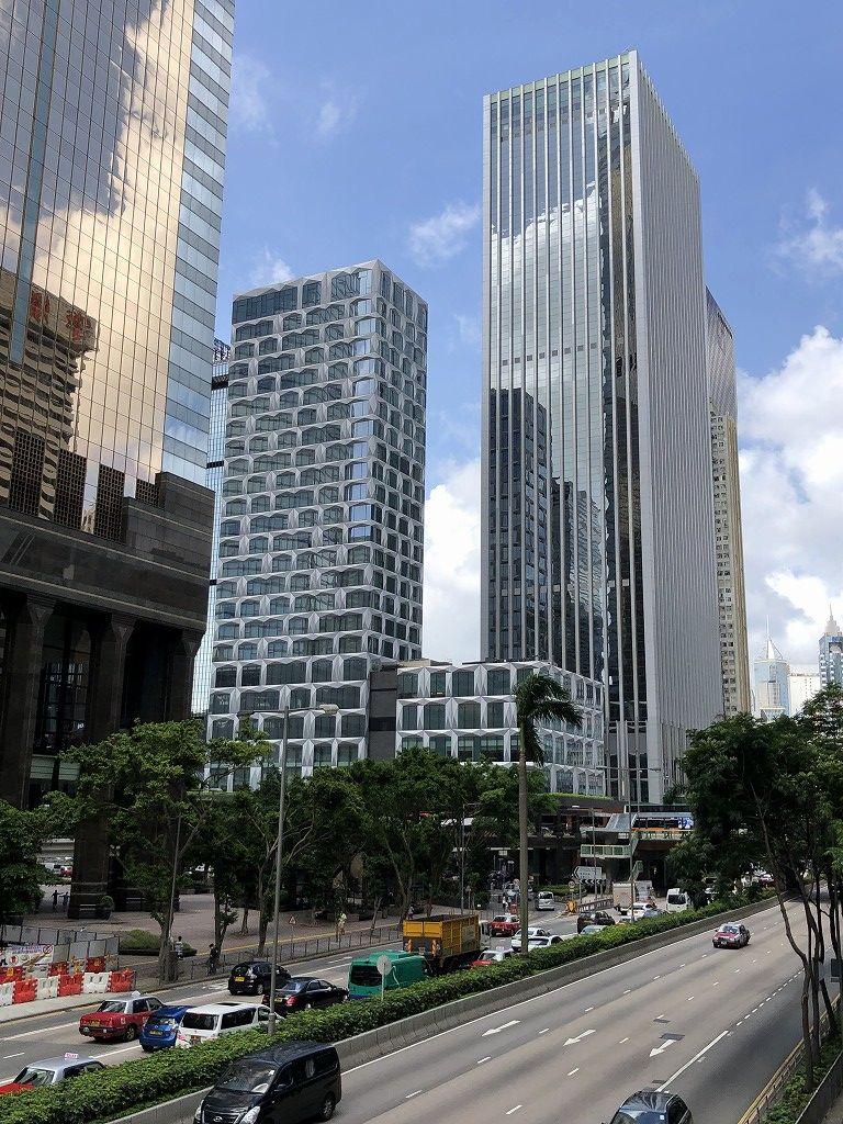 セントレジス香港の外観1