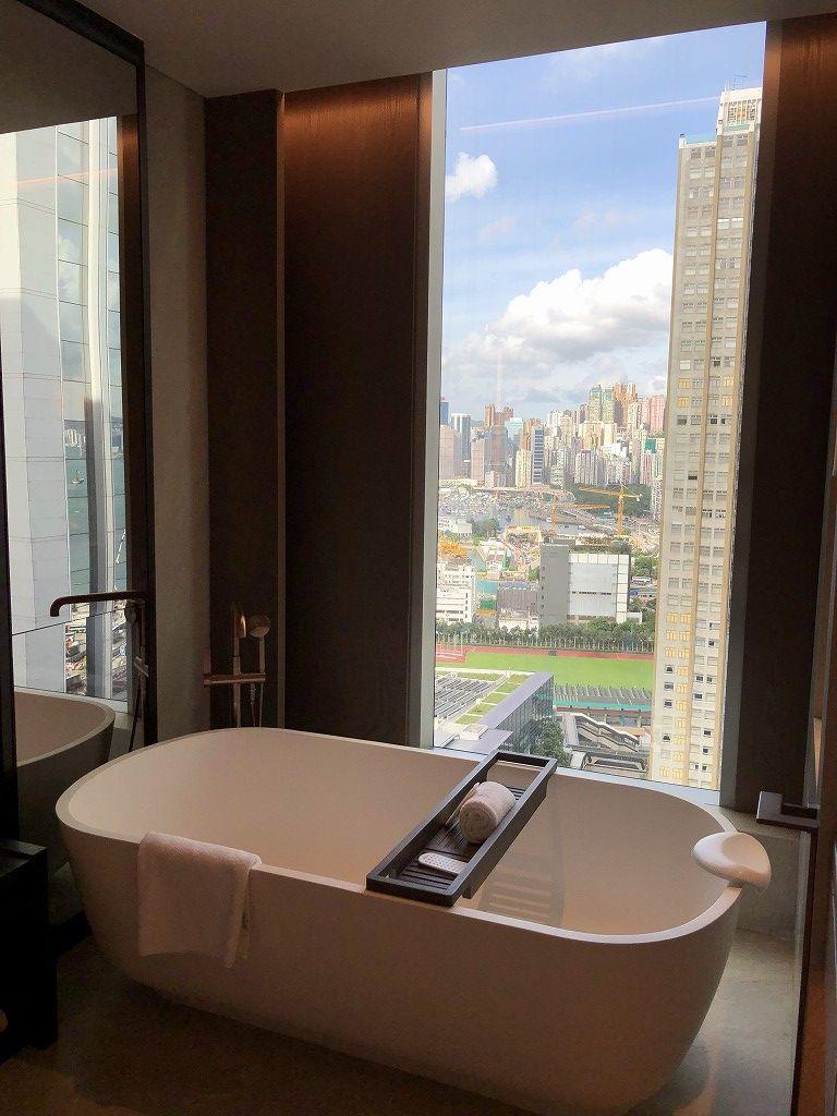 セントレジス香港のメトロポリタンスートのお風呂