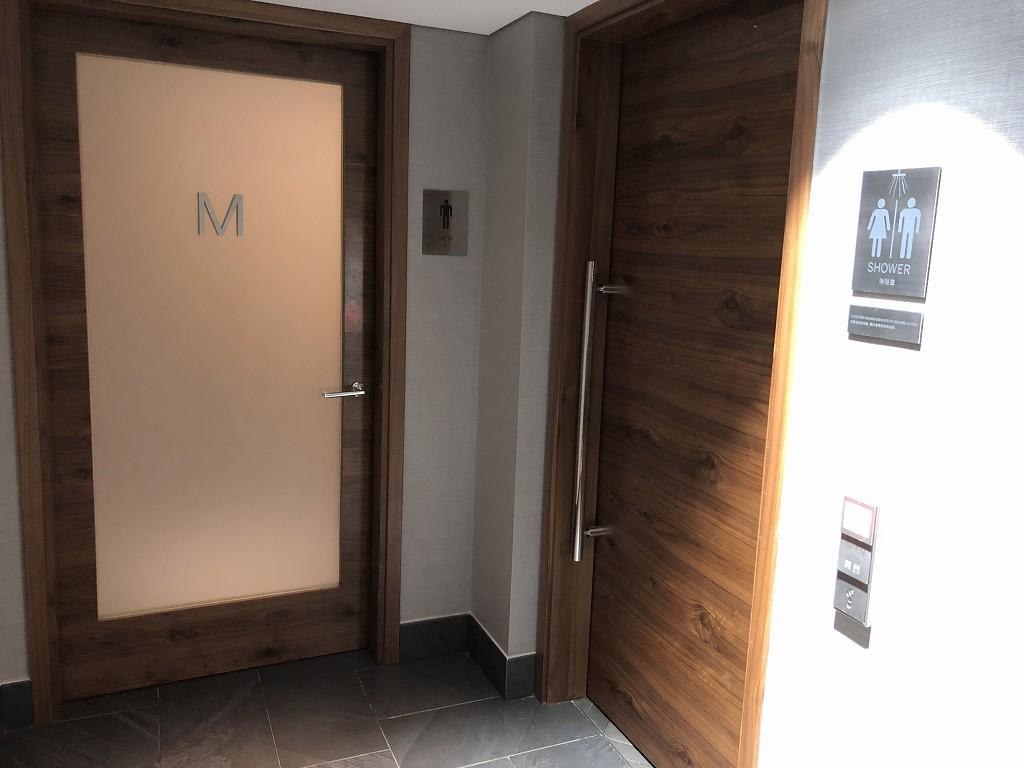 香港国際空港のアメリカン・エキスプレス・センチュリオン・ラウンジのシャワールーム