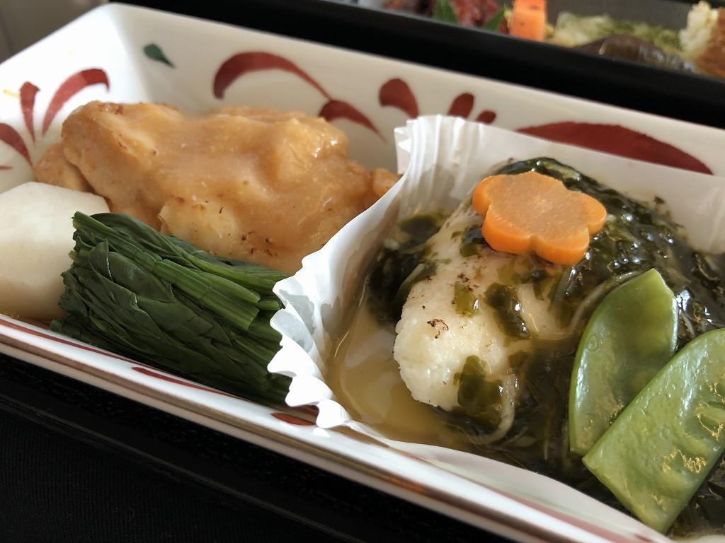 JAL26便ビジネスクラスの和食の機内食2