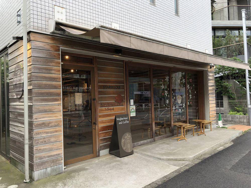 スターバックス コーヒー 駒沢1丁目店のテラス席
