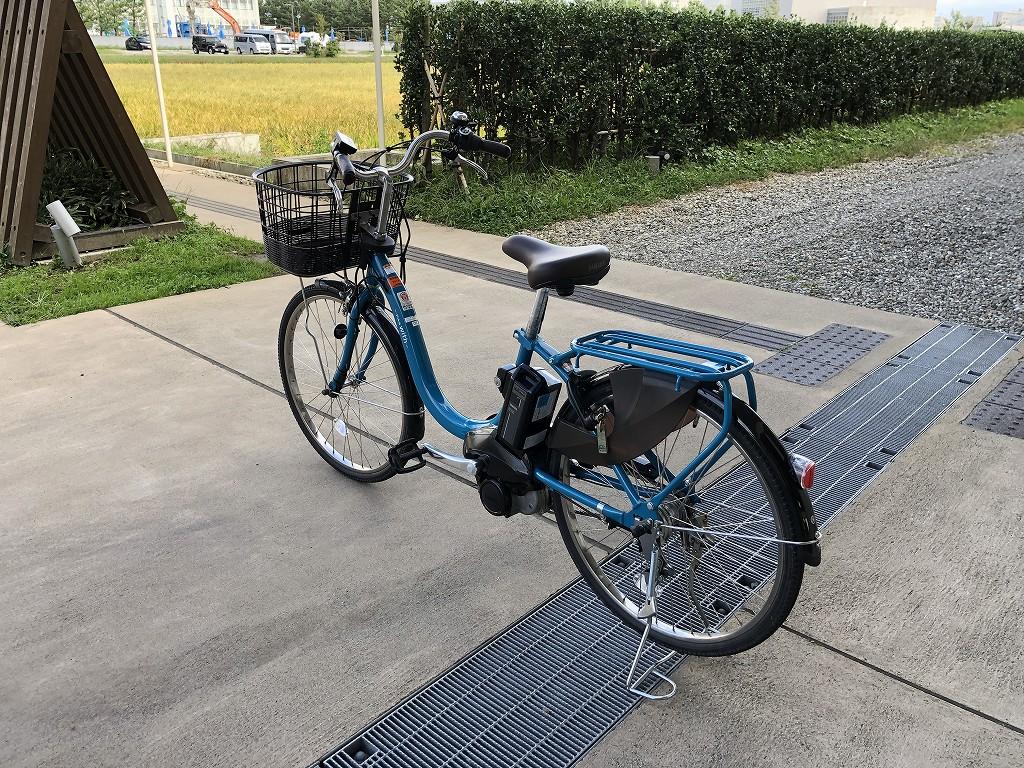 スイデンテラスのレンタサイクル(電動自転車)