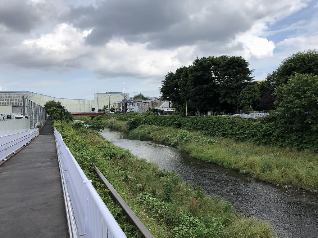 野川に架かる水道道路2