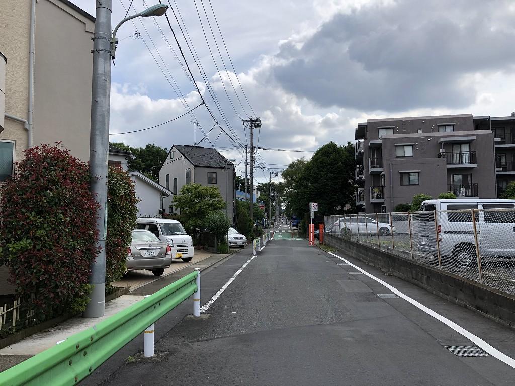 野川に架かる水道道路4