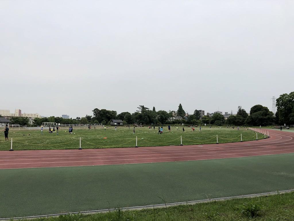 都立和田堀公園の第二競技場