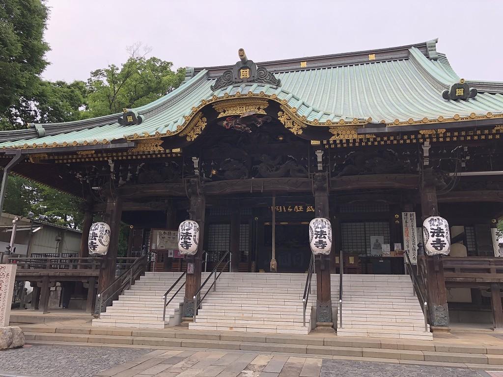 妙法寺の祖師堂