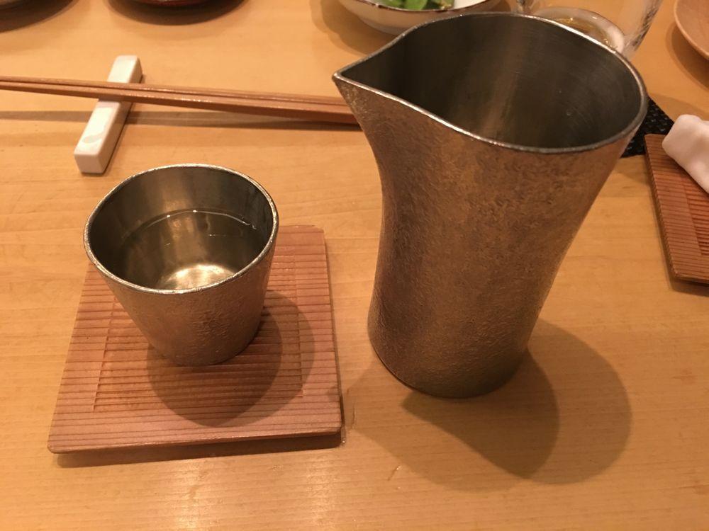 ウェスティン朝鮮ソウルの鮨朝の鮨朝 純米