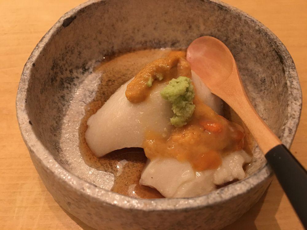 ウェスティン朝鮮ソウルの鮨朝のごま豆腐