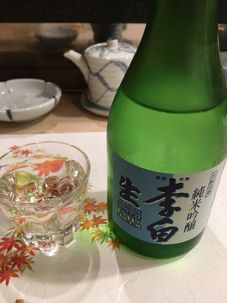 寿司 花一の李白