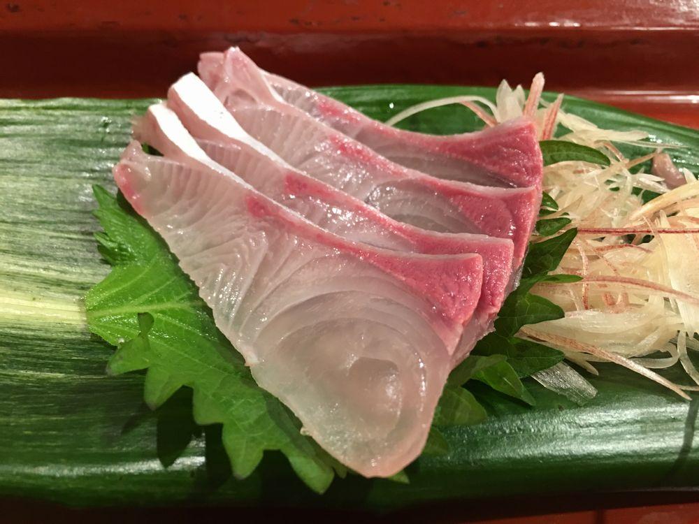 寿司 花一のカンパチ