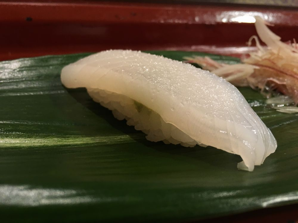 寿司 花一のイカ