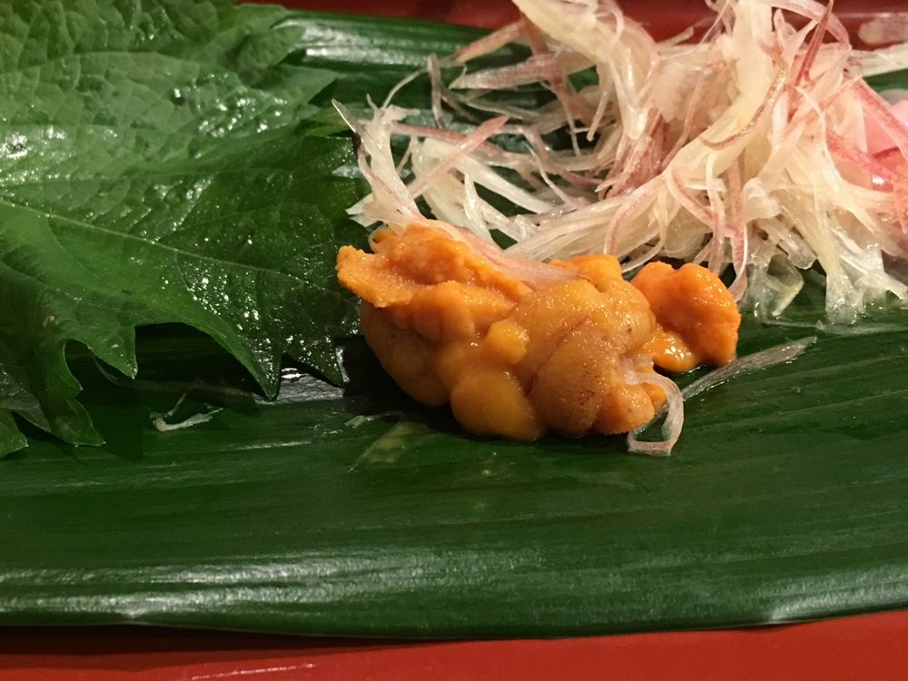 寿司 花一のウニ