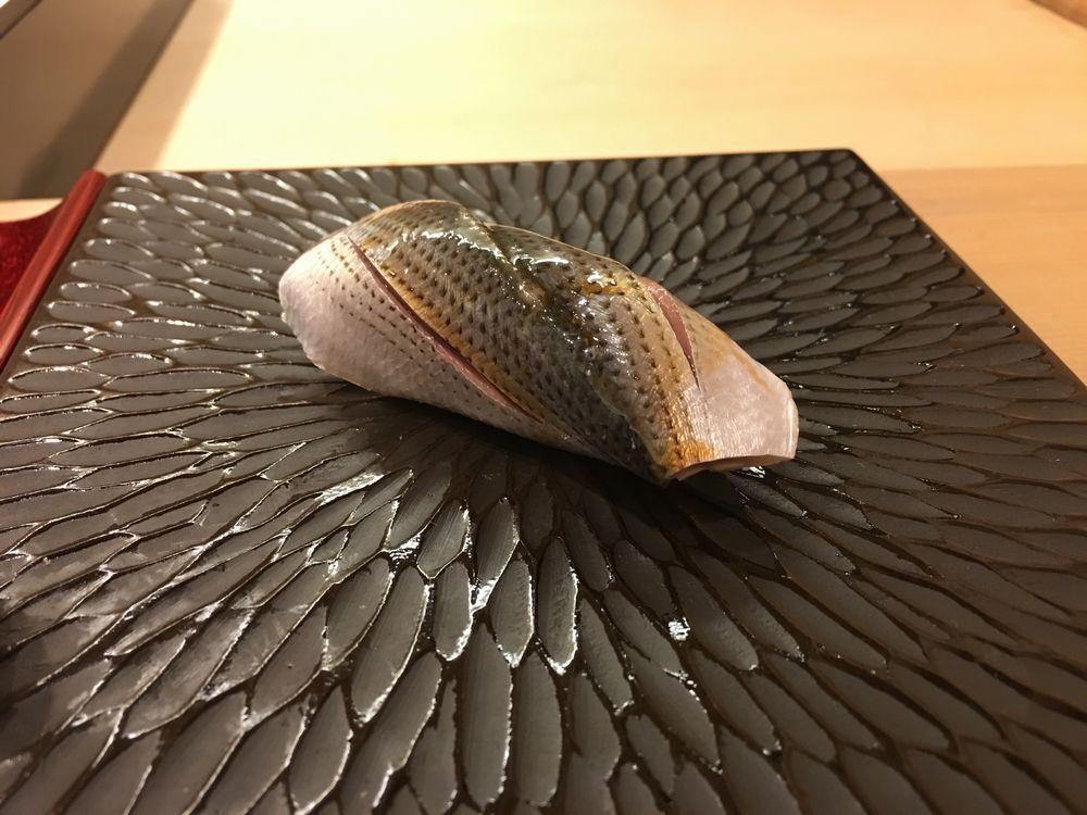 鮨舳のコハダ