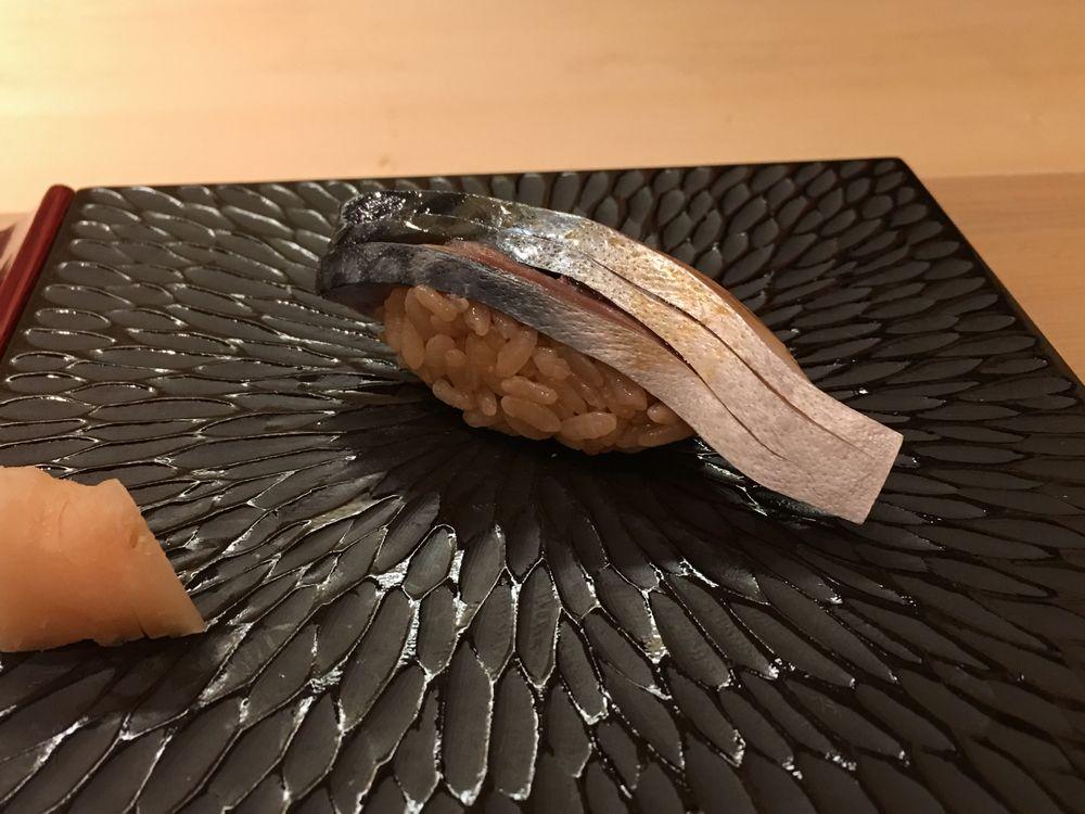 鮨舳のアジ