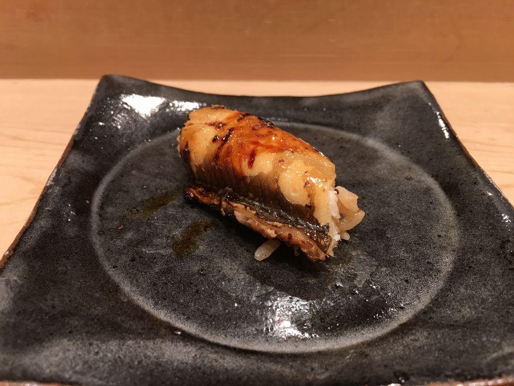 薄野 鮨金のアナゴ