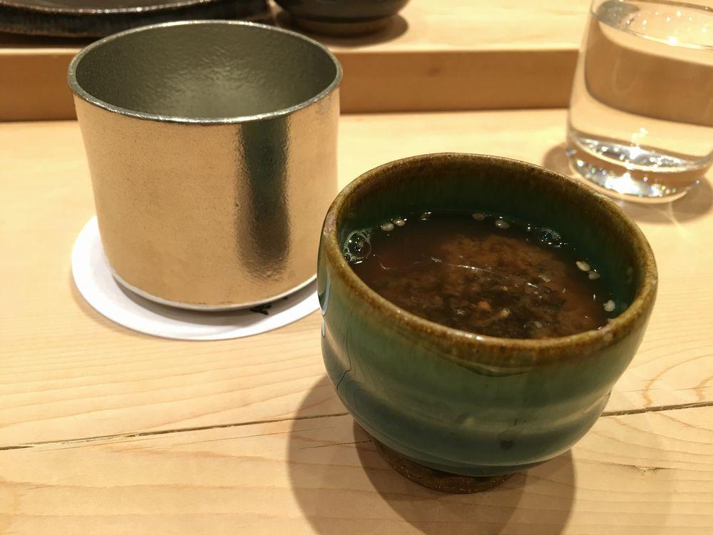 薄野 鮨金の味噌汁