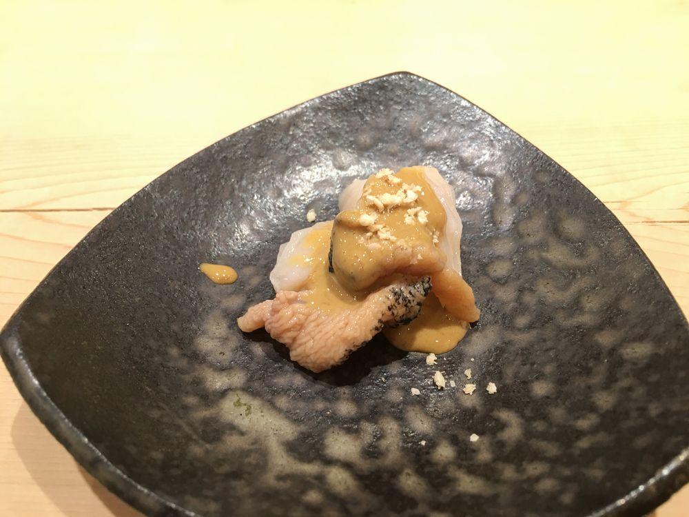 薄野 鮨金のツブ貝