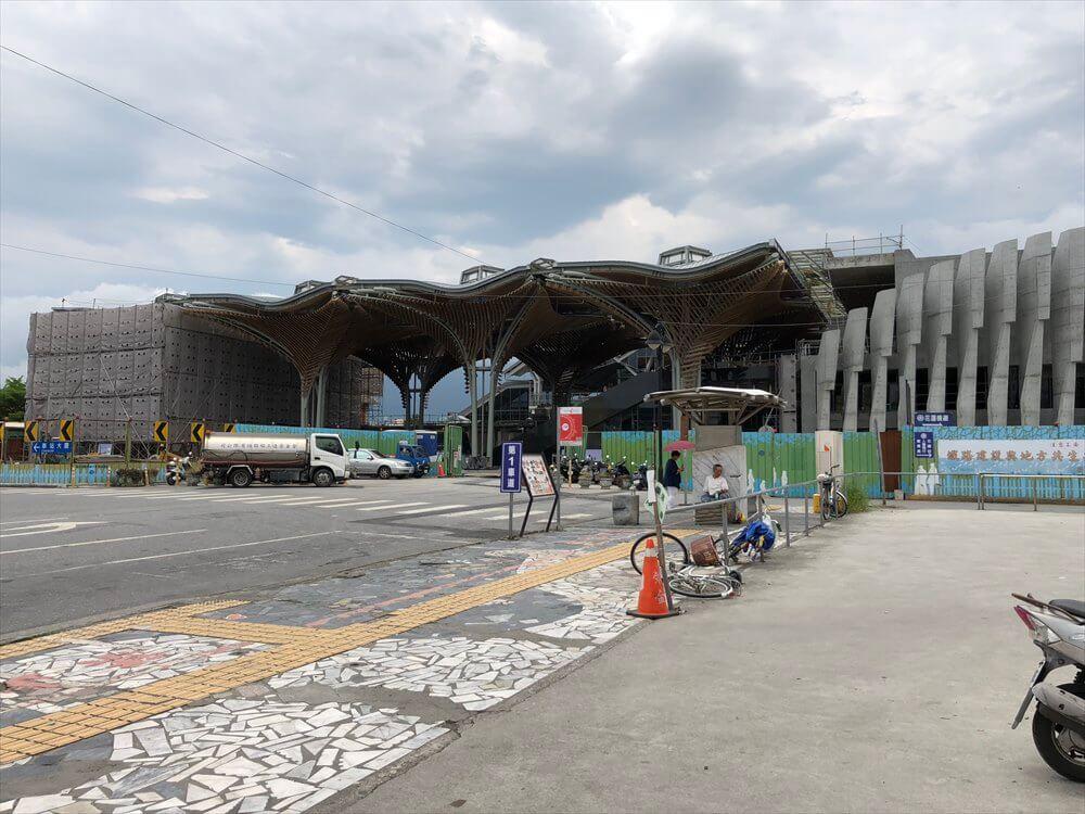花蓮駅の新駅舎1