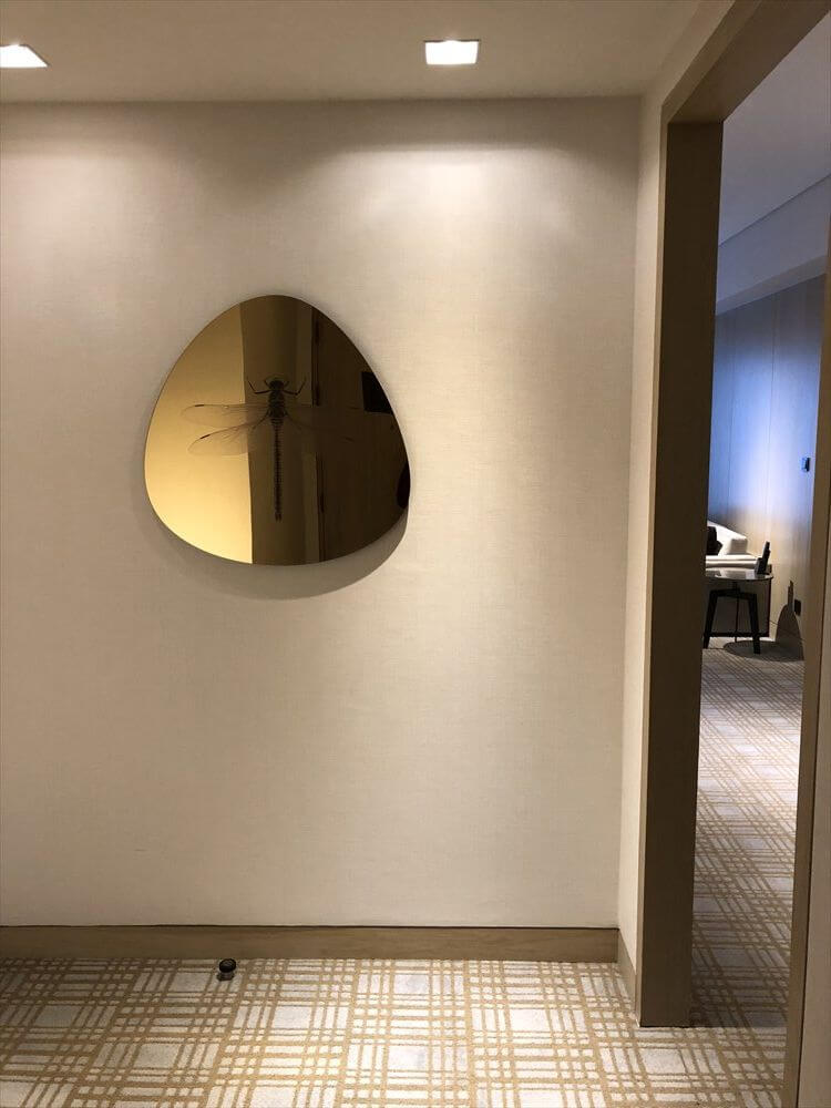 台北マリオットホテルのスイートルーム1