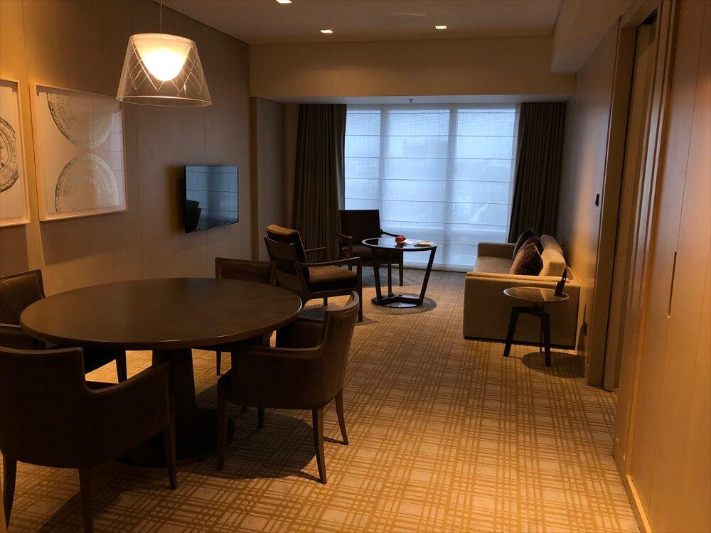 台北マリオットホテルのスイートルーム2