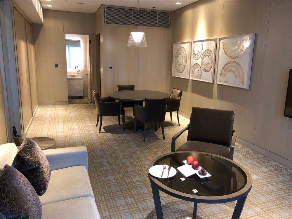 台北マリオットホテルのスイートルーム3