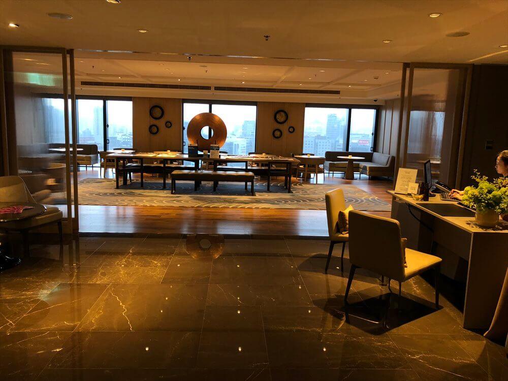 台北マリオットホテルのラウンジ1
