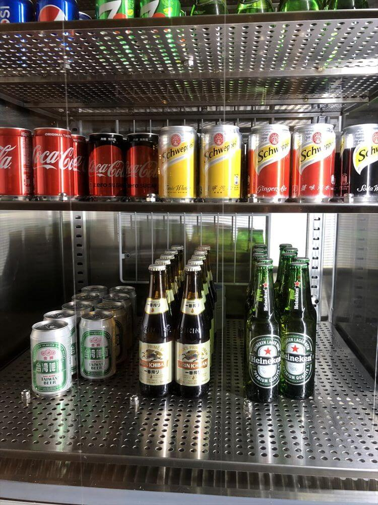 台北マリオットホテルのラウンジのアルコール1