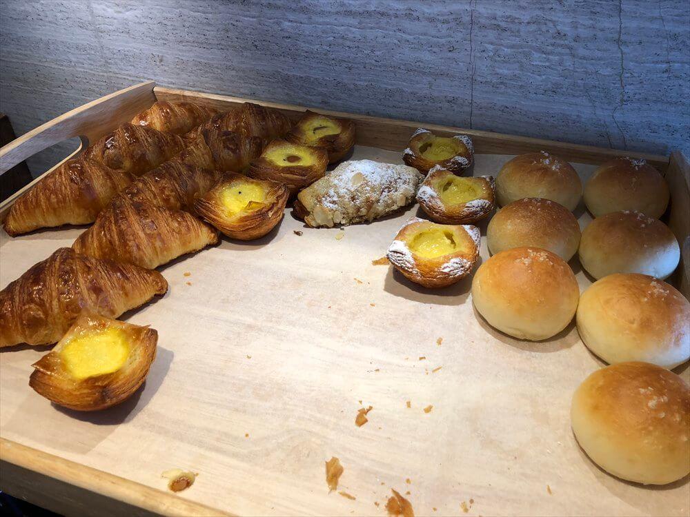 台北マリオットホテルのラウンジの朝食1