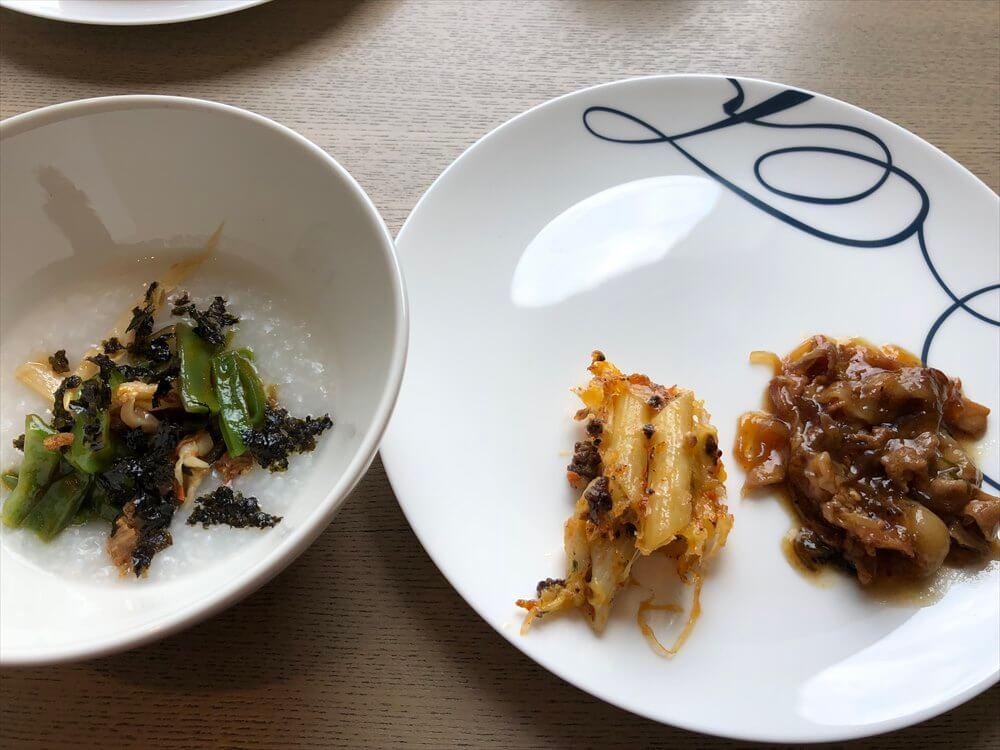 台北マリオットホテルのラウンジの朝食5