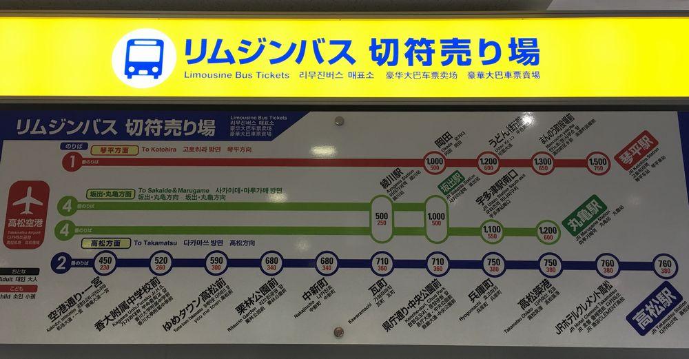 JR琴平駅までのシャトルバスの運賃