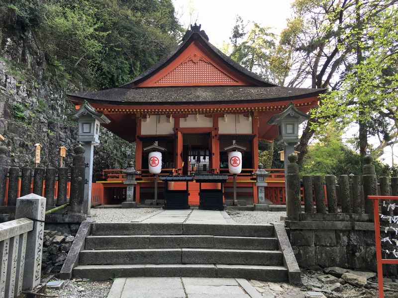金刀比羅宮の奥社の厳魂神社