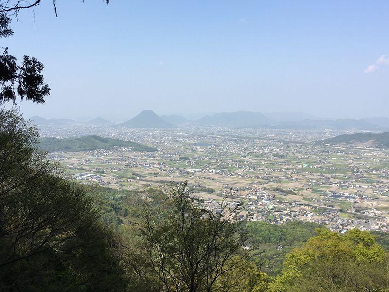 金刀比羅宮の奥社からの眺め