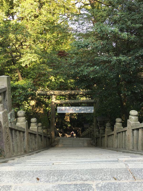 金刀比羅宮の下向道2