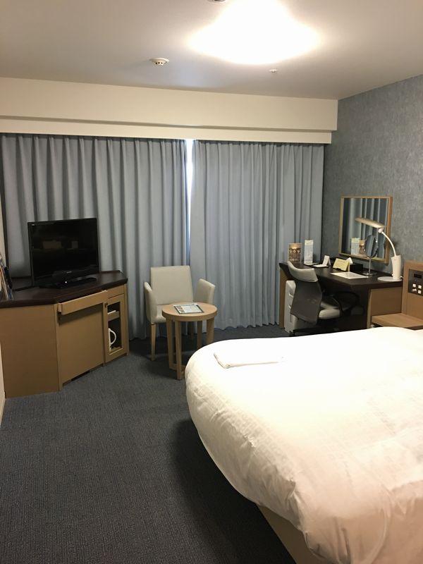 ダイワロイネットホテル高松 モデレートルーム窓側