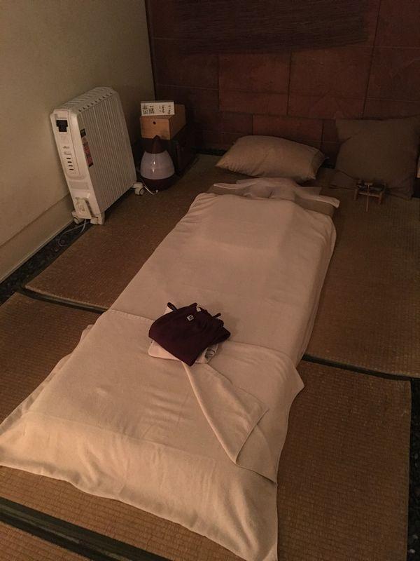 高松の癒家KUNIのマッサージ室