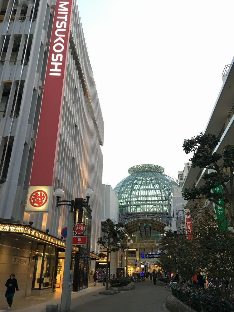 高松三越から見たガラスドーム