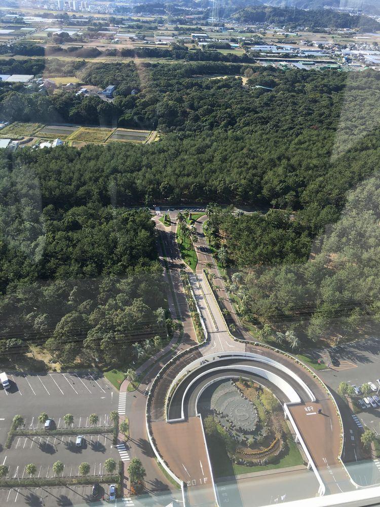 タツヤカワゴエ・ミヤザキからの眺め(陸側)