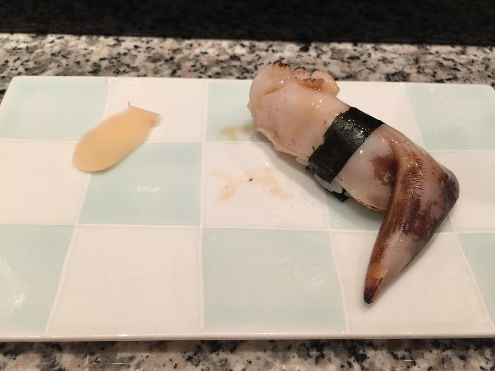 天駒トリガイの寿司
