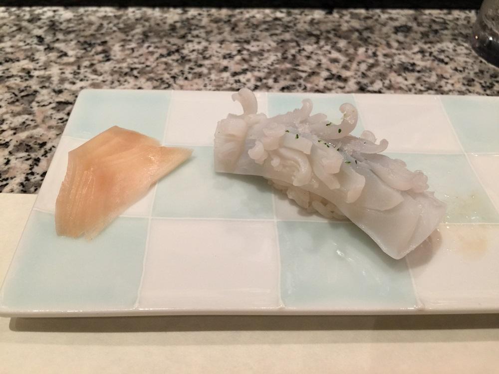 天駒イカの寿司