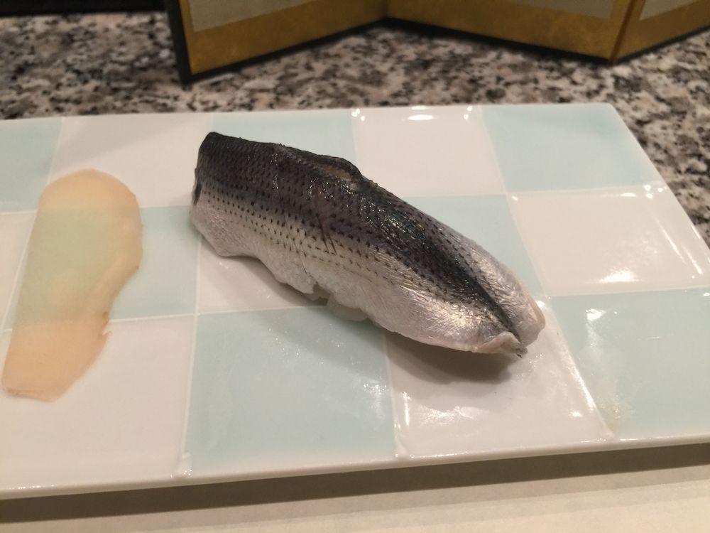 秋田・天駒のコハダ
