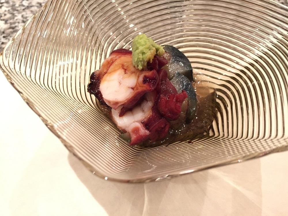 天駒ミズダコの煮蛸とナスの揚げ出し