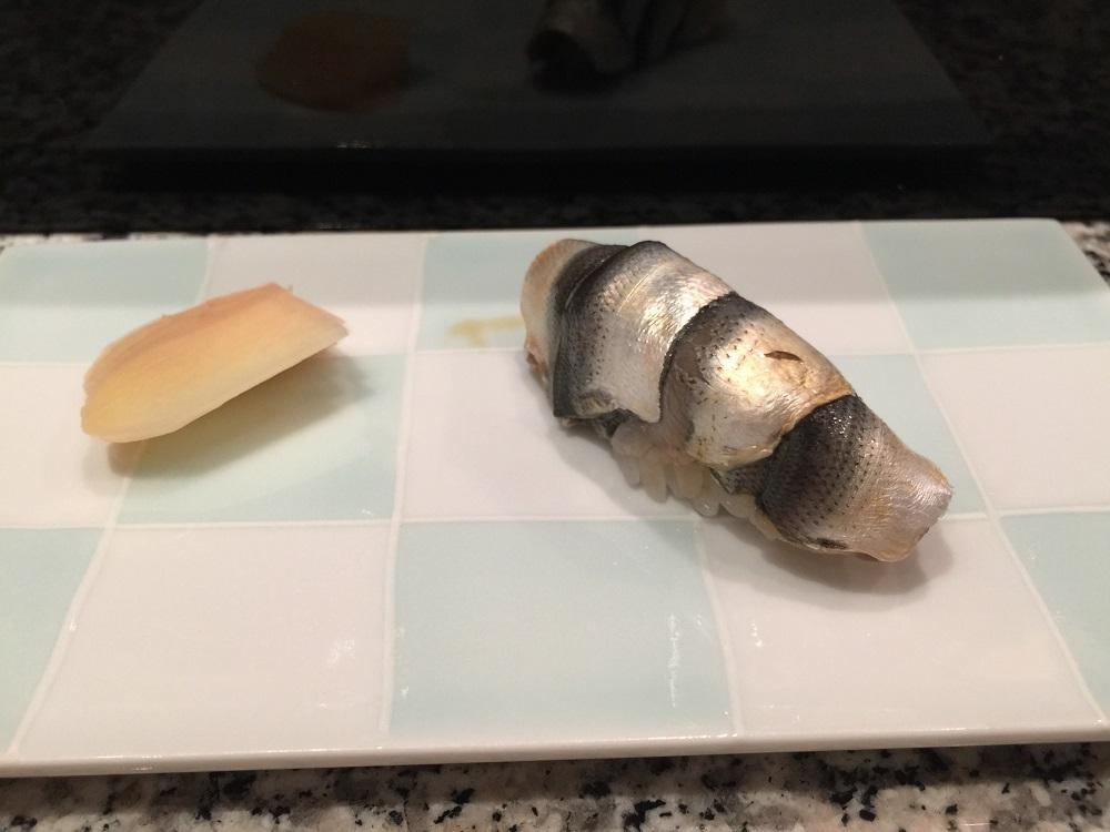 天駒シンコの寿司